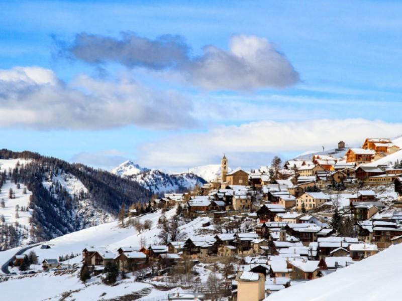 Le village de Saint-Véran