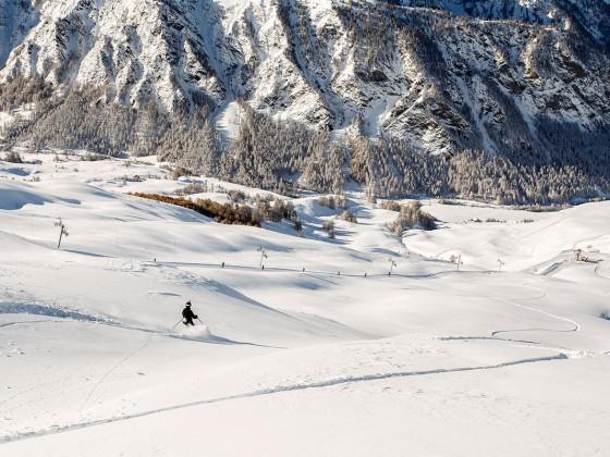 Molines / Saint-Véran, le plus grand domaine de ski alpin du Queyras
